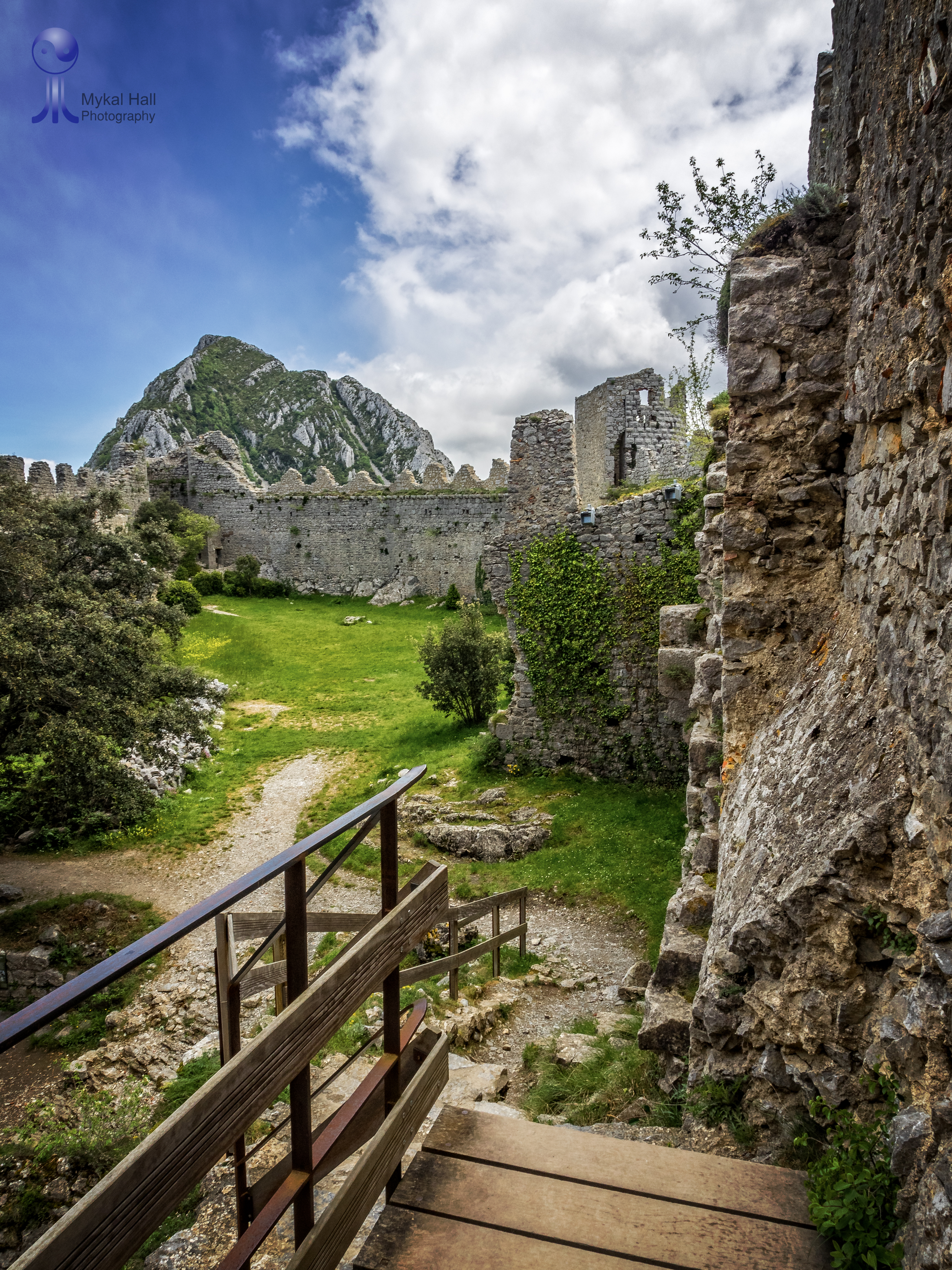 Chateau de Puilaurens, France