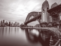 Sydney Harbour Bridge BW