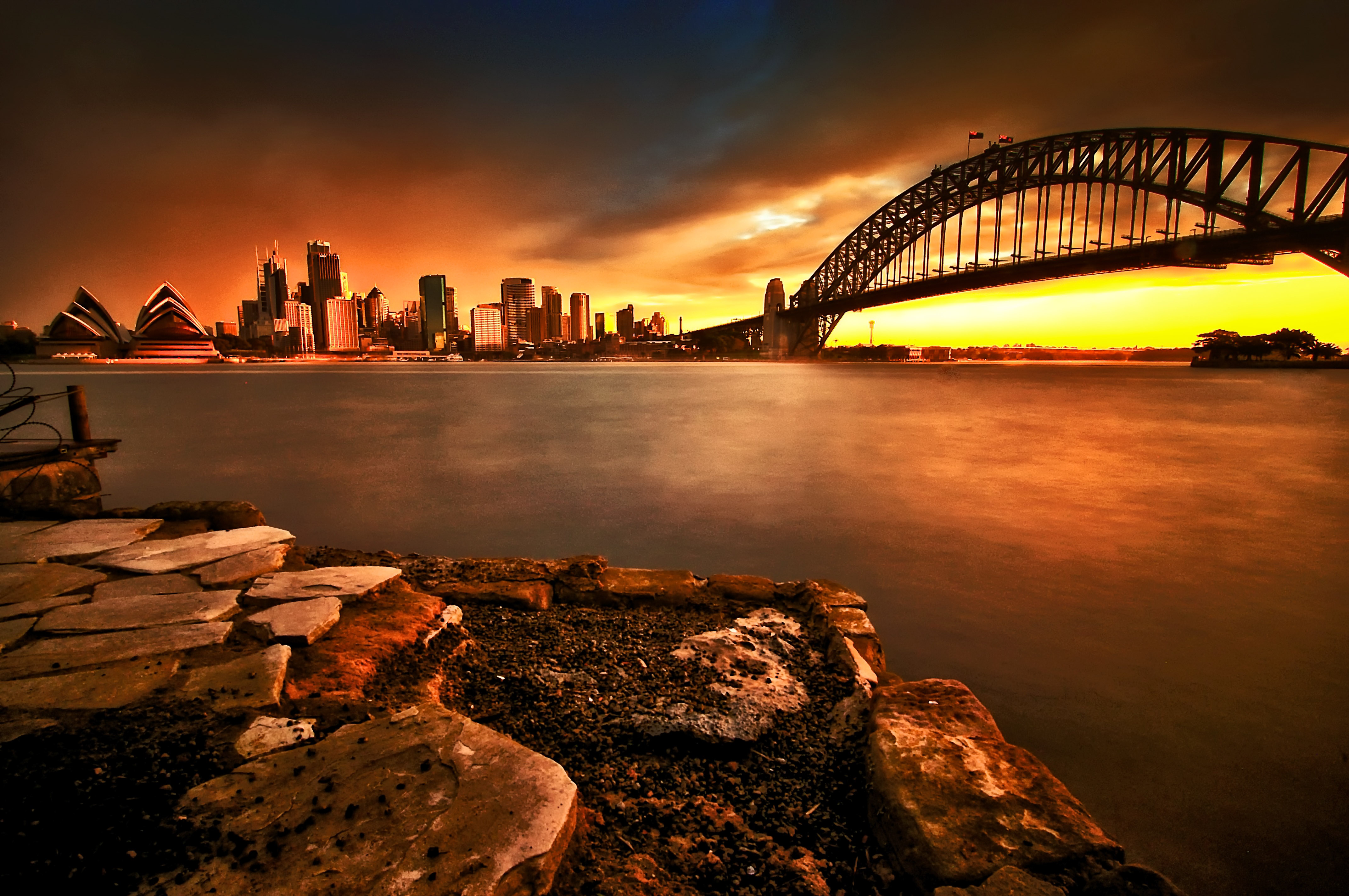 Red Sails In The Sunset, Sydney Harbour